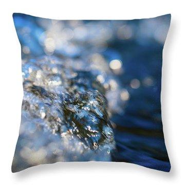Splash Three Throw Pillow