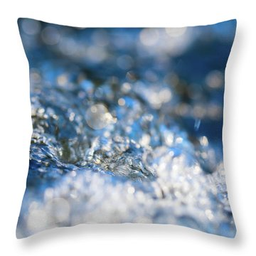 Splash Two Throw Pillow