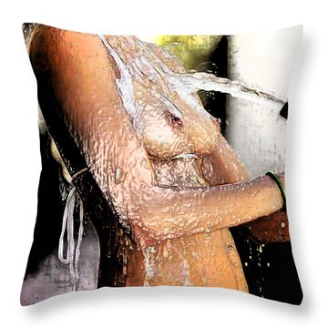 Splazh Throw Pillow