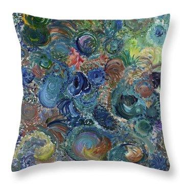 Splendid Mystery Throw Pillow
