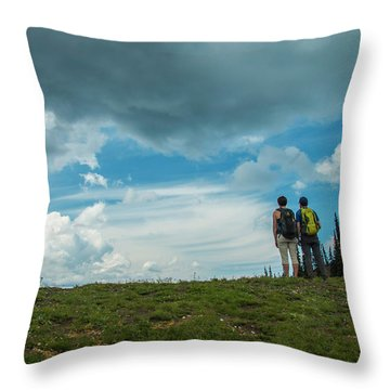 Splendid View Throw Pillow