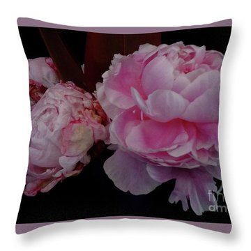 Splendor In Pink Throw Pillow