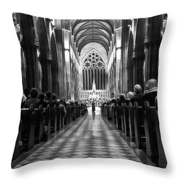 Throw Pillow featuring the photograph Splendour Of Venice Concert by Miroslava Jurcik