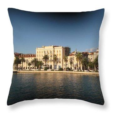 Split- Croatia Throw Pillow