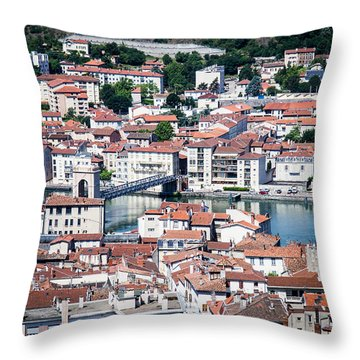 Throw Pillow featuring the photograph Split Down The Middle by Jason Smith