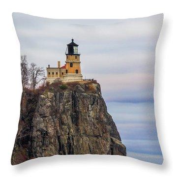 Split Rock  Throw Pillow