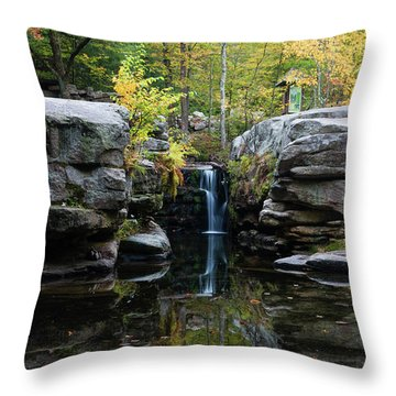 Split Rock In October #1 Throw Pillow by Jeff Severson