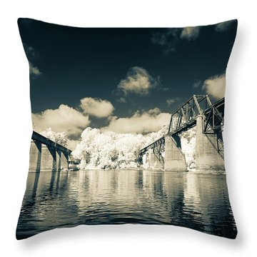 Congaree Trestles Cayce, Sc Throw Pillow