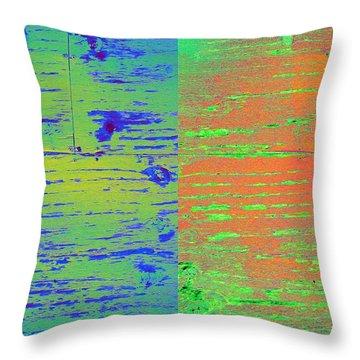 Splitsville Planet Throw Pillow