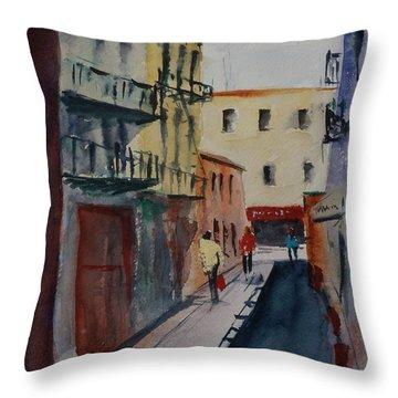 Spofford Street2 Throw Pillow