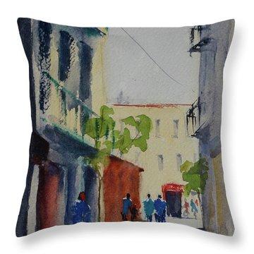 Spofford Street3 Throw Pillow