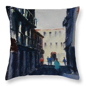 Spofford Street4 Throw Pillow