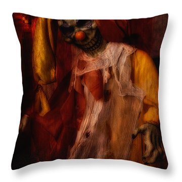 Spoils, The Clown Throw Pillow