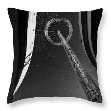 Spokane Wa Expo 1974 Pavillion Throw Pillow