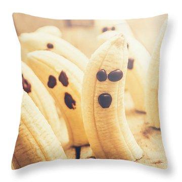 Spooky Seasonal Snacks Throw Pillow