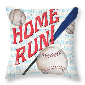 Sports Fan Baseball Throw Pillow