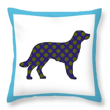 Spot Throw Pillow by Now