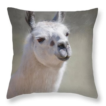 Throw Pillow featuring the photograph Spot by Robin-Lee Vieira
