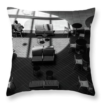 Throw Pillow featuring the photograph Spotlight by Eric Lake