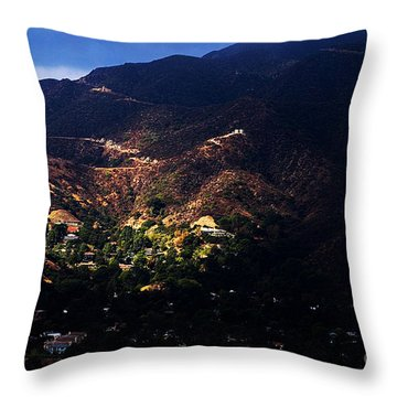 Spotlight From The Heavens Throw Pillow