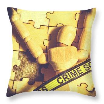 Spotlight On A Judicial Plot Hole Throw Pillow
