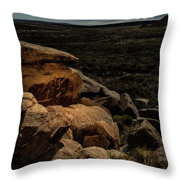Throw Pillow featuring the photograph Spotlight On History by Melany Sarafis