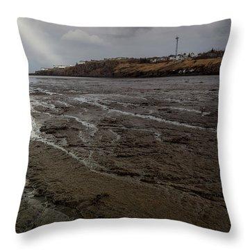 Spotlight On Iceland Throw Pillow
