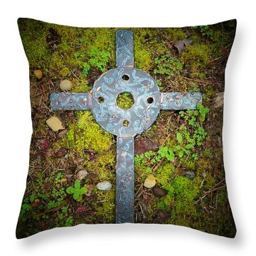 Spotlight On Jerusalem Throw Pillow by Deborah Montana