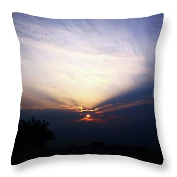 Spotlight Sunrise Throw Pillow