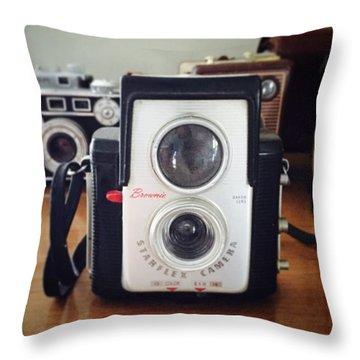 Brownie Starflex Camera Throw Pillow