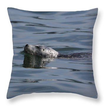 Spotted Beauty Throw Pillow by Sheila Ping