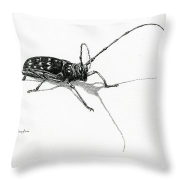Spotted Pine Sawyer Throw Pillow