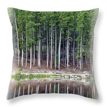 Sprague Lake 03 Throw Pillow