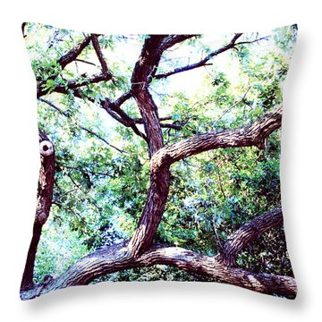 Sprawling  Throw Pillow