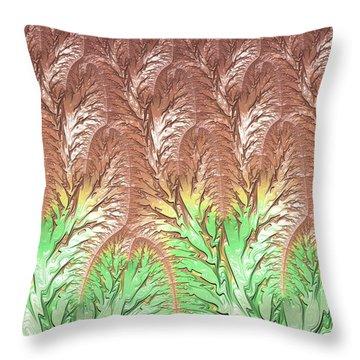Spring 2 Fall Throw Pillow