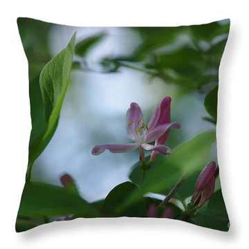 Throw Pillow featuring the photograph Spring 2016 11 by Cendrine Marrouat