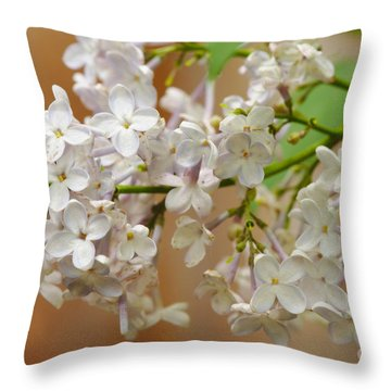 Throw Pillow featuring the photograph Spring 2016 15 by Cendrine Marrouat