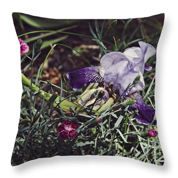 Throw Pillow featuring the photograph Spring 2016 17 by Cendrine Marrouat