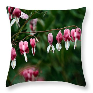 Throw Pillow featuring the photograph Spring 2016 22 by Cendrine Marrouat