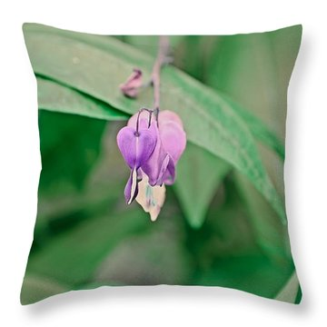 Throw Pillow featuring the photograph Spring 2016 23 by Cendrine Marrouat