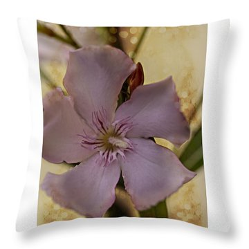 Throw Pillow featuring the photograph Spring by Annette Berglund