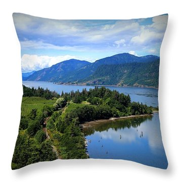 Spring At Ruthton Point Throw Pillow by Lynn Hopwood