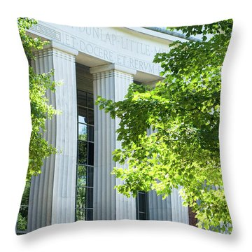 Throw Pillow featuring the photograph Spring At Uga by Parker Cunningham