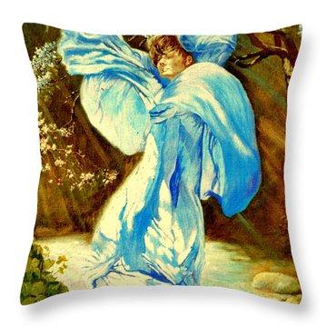 Spring - Awakening Throw Pillow by Henryk Gorecki