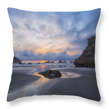 Throw Pillow featuring the photograph Spring Begins In Bandon by Patricia Davidson
