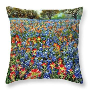 Spring Bliss Throw Pillow