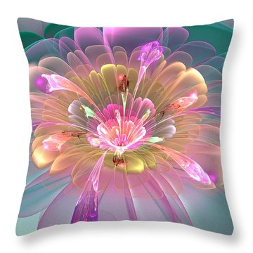 Spring Bloom Throw Pillow by Peggi Wolfe