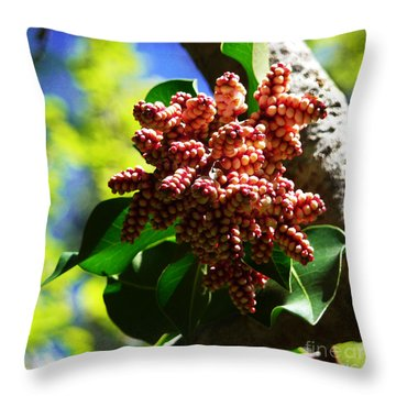 Spring Blossom 1 Throw Pillow by Xueling Zou