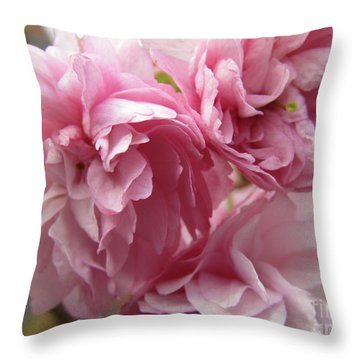 Spring Blossoms #1 Throw Pillow