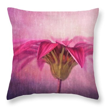 Throw Pillow featuring the photograph Spring Blush by Amy Weiss
